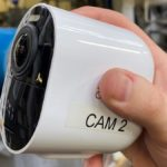 Camera for video monitoring of paper pilot